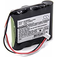 vhbw Batería NiMH 2500mAh (4.8V) para OTDR Aparato de Control Anritsu 909814B, 909815B, MT9090, MT9090A como PT01426, G0202A, PT01496.