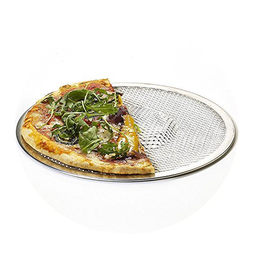 Enipate Kitchen aluminum Bakeware attrezzo della torta teglia per pizza da pietra vassoio 15,3 cm ca. Silver