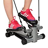 Best Aerobic Steppers - Costway Exercise Step Machine Aerobic Fitness Stepper Ropes Review