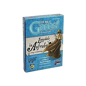 Lookout Games 22160088 Oh My Goods Longsdale in Aufruhr - Juego de Mesa (Contenido en alemán) Importado de Alemania