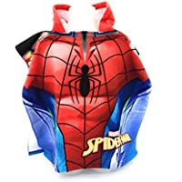 Spiderman Capa de baño – Poncho de baño (microfibra 100% poliéster ...