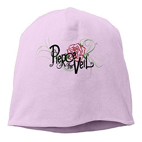 minloo L da uomo e da donna designname skatingcap cenere maglia per autunno e inverno Pink Taglia unica