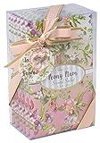 Tri-Coastal Charming Garden Sachets Parfumés pour Tiroirs et Armoires Papier Rose 27 X 25 X 15 cm