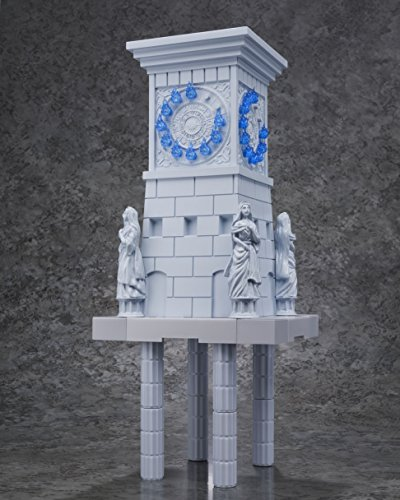 BANDAI- Atenea Diosa y Extension Set Reloj Santuario, Figura de 10 cm, Saint Seiya DD Panoramation (BDISS128496) 3