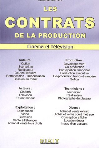 Les contrats de la production audiovisue...