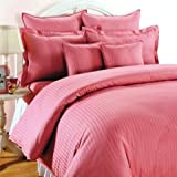 #10: Trance Home Linen 100% Cotton 210 TC Queen Double Fitted Bedsheet 78