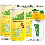 Almased Vitalkost 3 Dosen à 500 g + Shaker