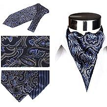 QIANGDA Écharpe en Soie Hommes Cravate Foulard Col De Chemise Écharpe d'affaires, 50,4 * 5,9 Pouces, 15 Styles Optionnel (Couleur : 12#)