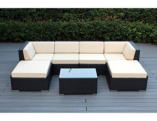 genuine-ohana-outdoor-patio-wicker-furniture-7pc-all-weather-gorgeous-couch-set-with-beige-cushion