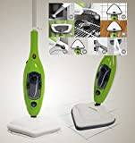 Bravo Nippon - Mopa eléctrica de vapor, con muchos accesorios y paños incluidos. Ideal para el...