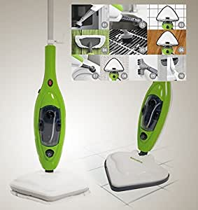 Scopa a vapore elettrica lavapavimenti x10 in 1 steam mop for Scopa a vapore hotpoint panni ricambio