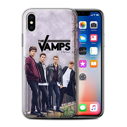 Offiziell The Vamps Hülle / Gel TPU Case für Apple iPhone X/10 / Pack 6pcs Muster / The Vamps Fotoshoot Kollektion Sammelalbum