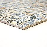 Mosaikfliesen Fliesen Mosaik Küche Bad WC Wohnbereich Fliesenspiegel Keramik Spring Flower 5mm #359