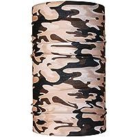 Head Multi camuflaje desierto loop pañuelo braga de cuello bufanda Loop  paño de microfibra para la 8ceb55366cb2