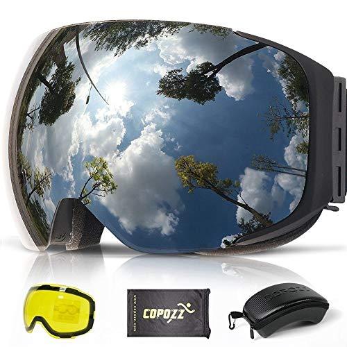 NO BRAND Gafas esquí Magnética Gafas esquí 2S Cambio