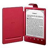 Sony Custodia con Luce per eBook Reader PRSA-CL30, Rosso