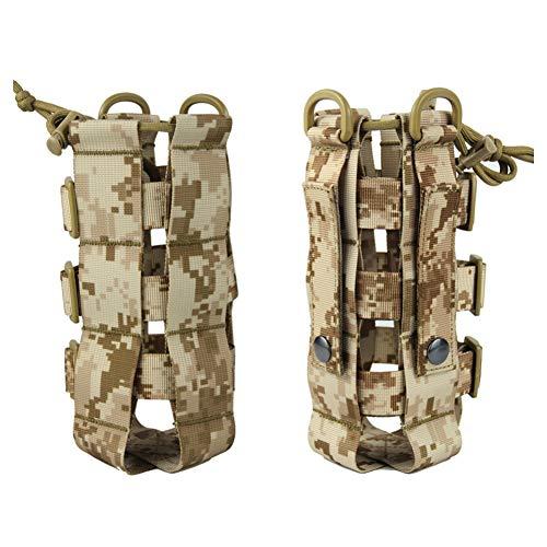 Zdmathe Tactical Water Bottle Pouch Militär Molle System Wasserkocher Tasche Tragbare Durable Camping Wandern Reise Survival Kits Träger -