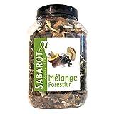 Sabarot Mélange Forestier 500g Packung (getrocknete Waldpilze)