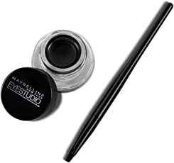 Maybelline New York Lasting Drama Eye Liner Drama Gel Liner, Black, 2.5g