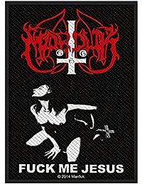 Marduk Parche textil oficial del disco Fuck Me Jesus