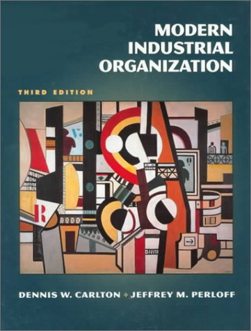 Modern Industrial Organization: United States Edition (Addison-Wesley Series in Economics)
