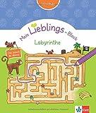 Klett Mein Lieblings-Block Labyrinthe: Vorschule ab 5 Jahren - Das kannst du alleine! -