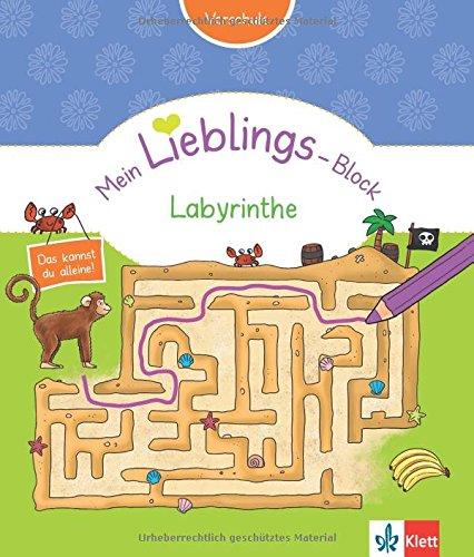 Klett Mein Lieblings-Block Labyrinthe: Vorschule ab 5 Jahren. Das kannst du alleine!