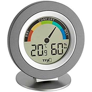 Tfa Cosy Digital Thermo Hygrometer Amazon Co Uk Garden