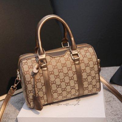 TSLX-Edle Klassische Handtasche Handtasche Schulter Drucken C
