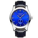 Nueva edición limitada Anthony James Distinción azul, reloj pulsera para hombres con cuarzo y puls