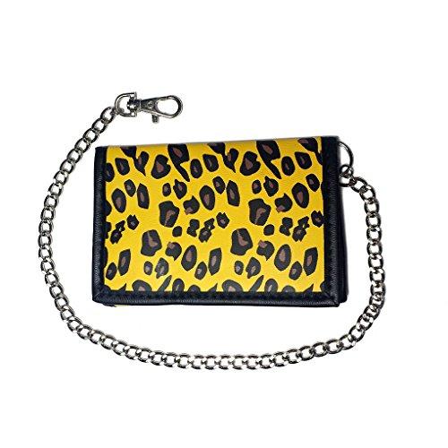 Portafoglio con catena in caso di colori e motivi, 141 (Nero) - 22410 911