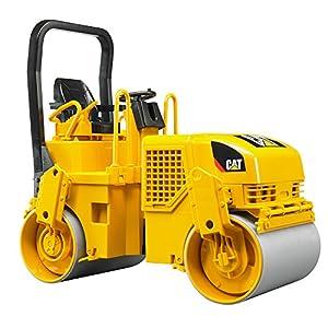 bruder 02433 Toys CAT Tandem-Vibrationswalze