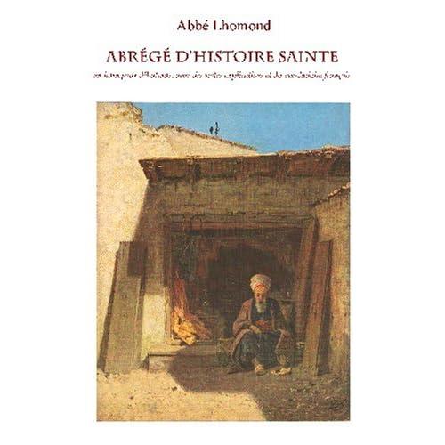 Epitome historiae sacrae (2 volumes): Abrégé d'Histoire Sainte en latin pour débutants, avec des notes explicatives et du vocabulaire français