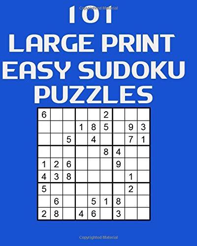 101 Large Print Easy Sudoku Puzzles por Beatrice Foster-Marshall