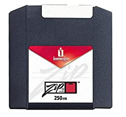 Iomega Pc-formatted 250Mb Zip-platten 4er Pack, Sku 11066(Auslaufmodell)