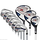 Callaway X2 Hot 9-Piece Golf Club Set Right Handed 3 x Head Covers BRAND by Callaway