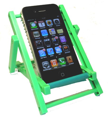Kar@Kas * Handyhalter 64* Sonnenliege GRÜN * klappbar für IPHONE Sony Ericsson, Siemens, Nokia, LG