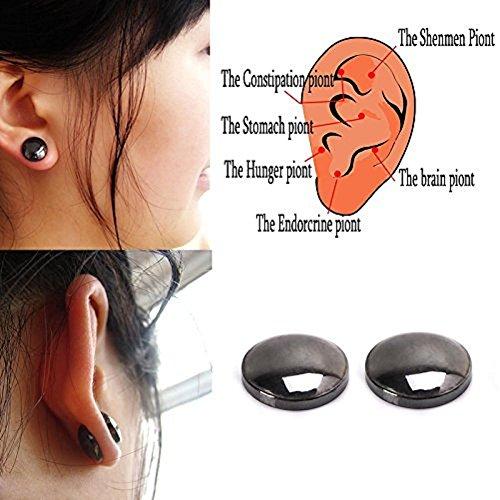 Lottoy® Damen Ohrringe Schmuck Ohrstecker Stecker Bio Magnetic Slim Ohr Aufkleber Ohrringe Acupoints Gewichtsverlust Tragen Abnehmen (Verbesserung Der Gewichtsverlust)