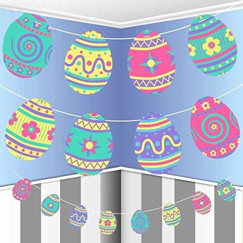 irlande Papier Hängende Dekoration Kinder Kinder Jagd Süß Banner Party Muster Blumen ()