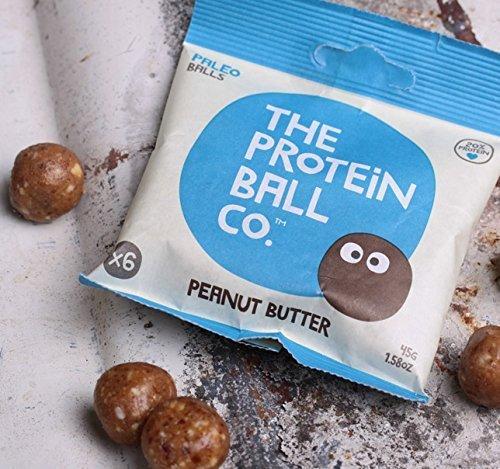 The Protein Ball Bolitas Proteicas de Suero, Cacahuetes y Dátiles - 10 Unidades