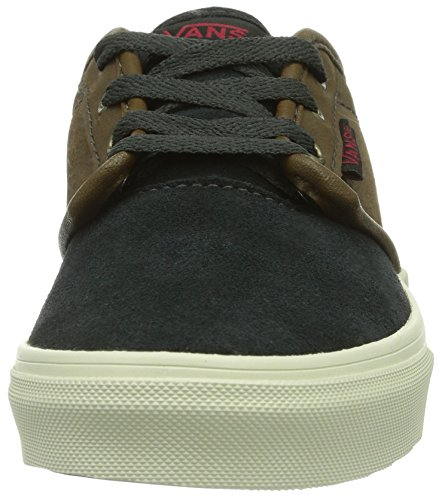 Vans - Sneaker Y ATWOOD (LEATHER SUEDE), Unisex - bambino Nero (Schwarz ((Leather Suede) ETK))