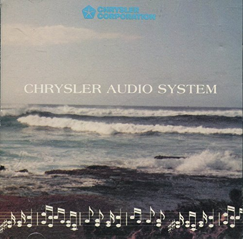 Chrysler Audio System : How to Set Digital Clock, How to Tune Radio & CD Player [Audio Music CD] (12 Tracks Total, 8 of Music)