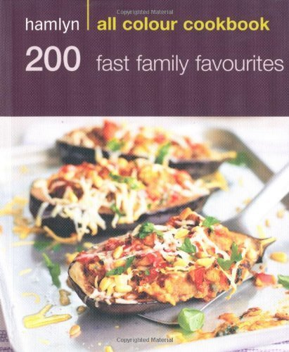 Hamlyn All Colour Cookbook 200 Fast Family Favourites by Emma Jane Frost, Hamlyn Cookbooks (2010)