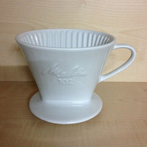 Preisvergleich Produktbild Melitta Kaffeefilter-Filter Porzellan 102 HOCHWERTIG inkl. Filtertüten