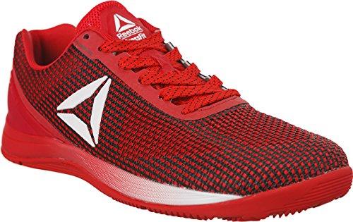 Reebok R Crossfit Nano AVY48, Zapatillas Deportivas para Interior Hombre, Rojo (Rosso Primal Red/black/white/silver), 45 EU