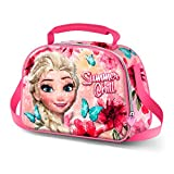 Karactermania Frozen Summer Chill-3D Shine Lunch Bag Schulranzen, 26 cm, Pink