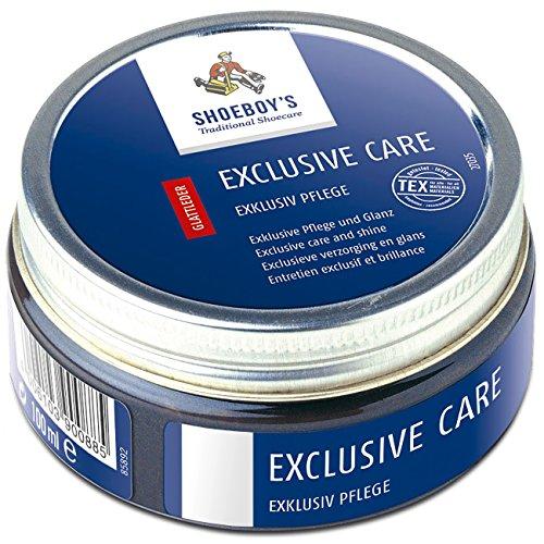 Care - edle Schuhpflegecreme für hochwertige und empfindliche Glattleder, farblos, 1er Pack (1 x 100 ml) (Exklusive Kid Schuhe)