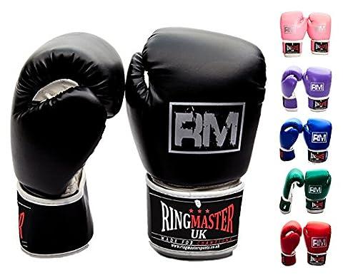 Kinder Boxhandschuhe Kickboxen Martial Arts Kinder Punch Mitts Tasche Zirkus
