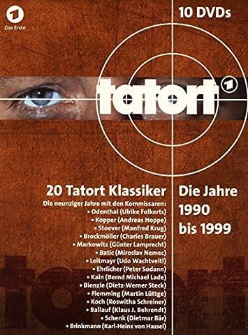 Tatort Klassiker:Die Jahre 1990 bis 1999 [10 DVDs]