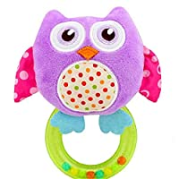 Lalang Nette Tier Rasseln Spielzeug Baby Plüschtiere, Baby Besänftige Spielzeug Rasseln, Baby Greiflinge Plüsh Spielzeug, Mädchen und Jungen